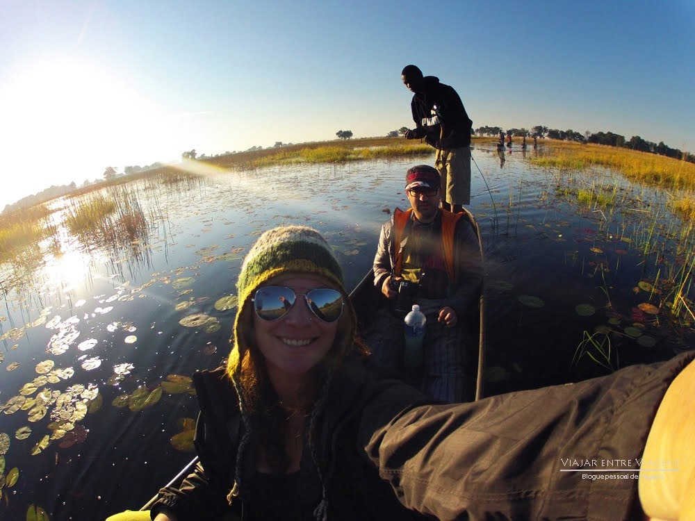 Viajar no Botswana