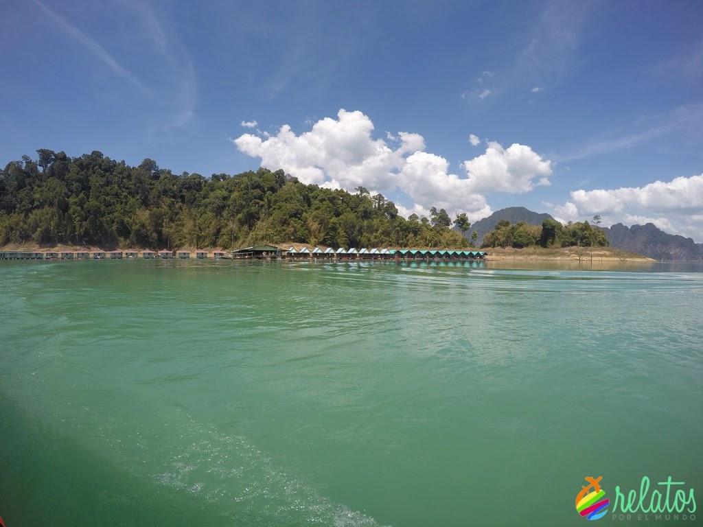 Bungallow Flotante Khao Sok