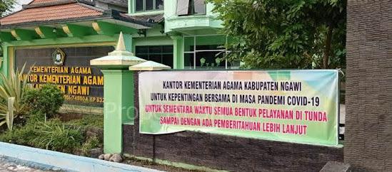 Kantor kementrian agama kabupaten Ngawi
