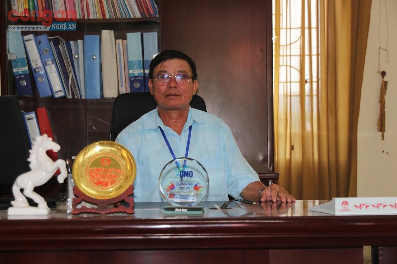 Đồng chí Hoàng Trung Thông,  Chủ tịch UBND xã Nghi Phương