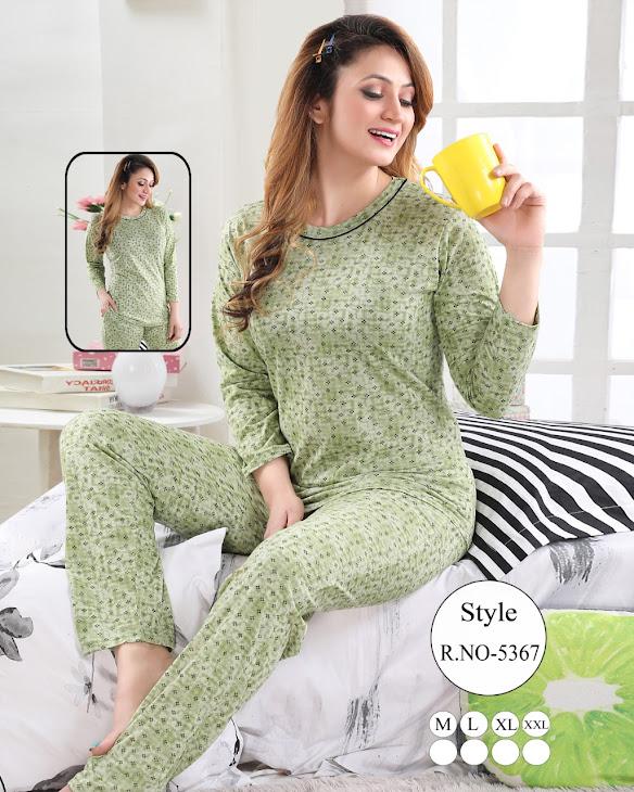 Full Sleeves Vol 74 Kavyansika Ladies Night Suits Manufacturer Wholesaler