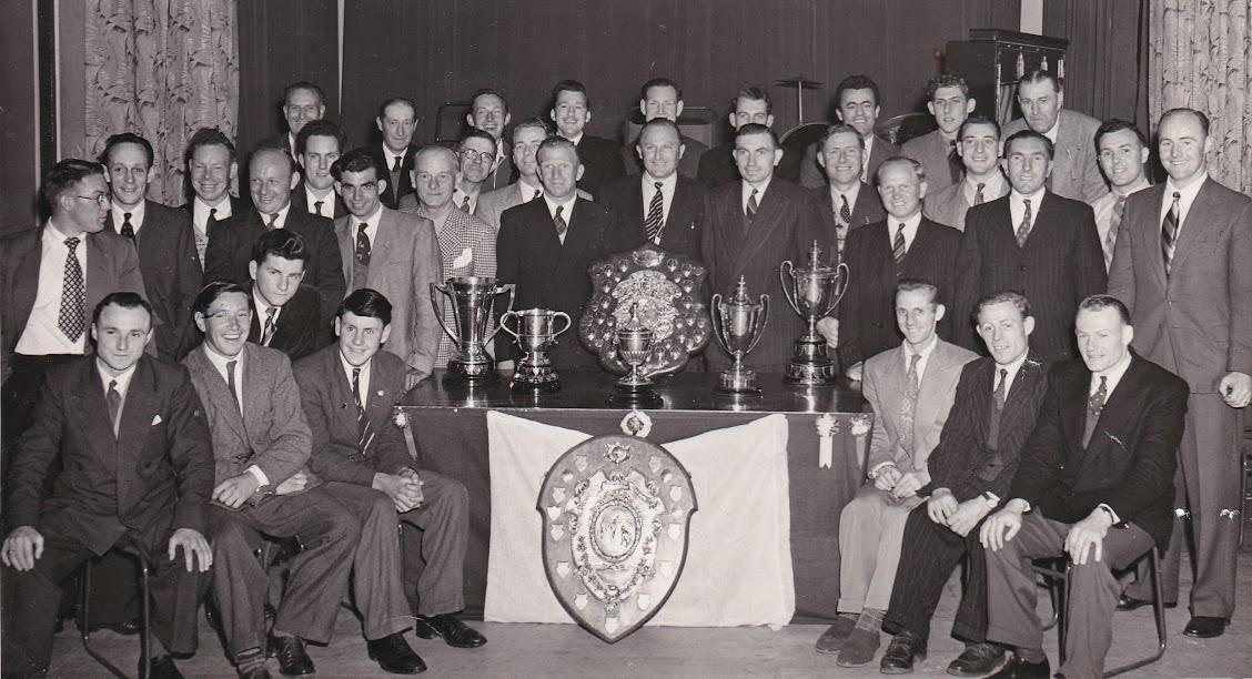 Tenterden Football Club Social May 1955