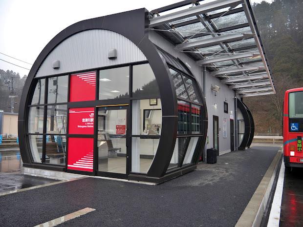 BRT志津川駅、開業。