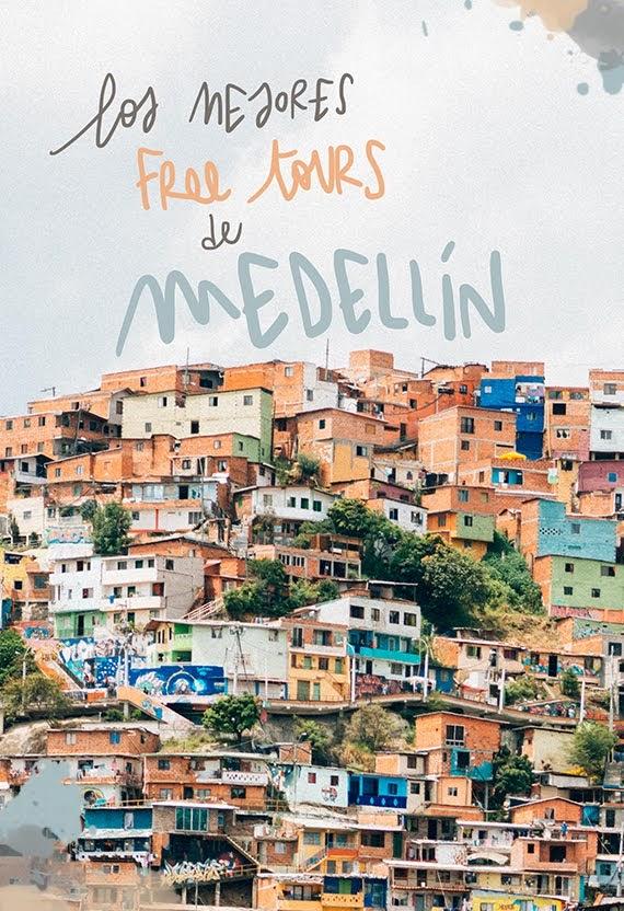mejores free tours de Medellín