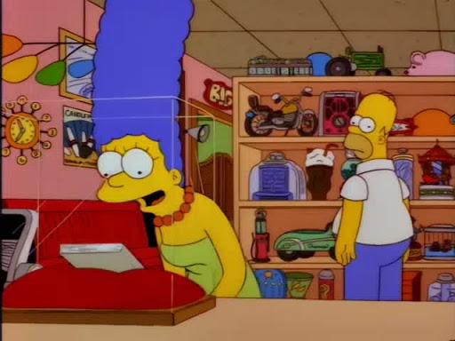Los Simpsons 8x15 La fobia de Homero