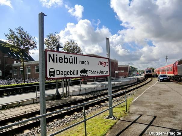 Für Föhr und Amrum ein zweiter Bahnhof in Niebüll