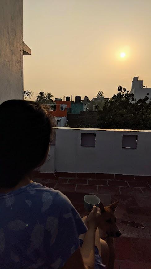 Mornings in Pondicherry