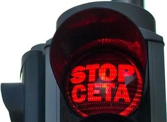 CETA Stop Schild italia