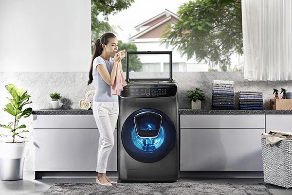 Hướng dẫn cách vệ sinh máy giặt Samsung cửa trên