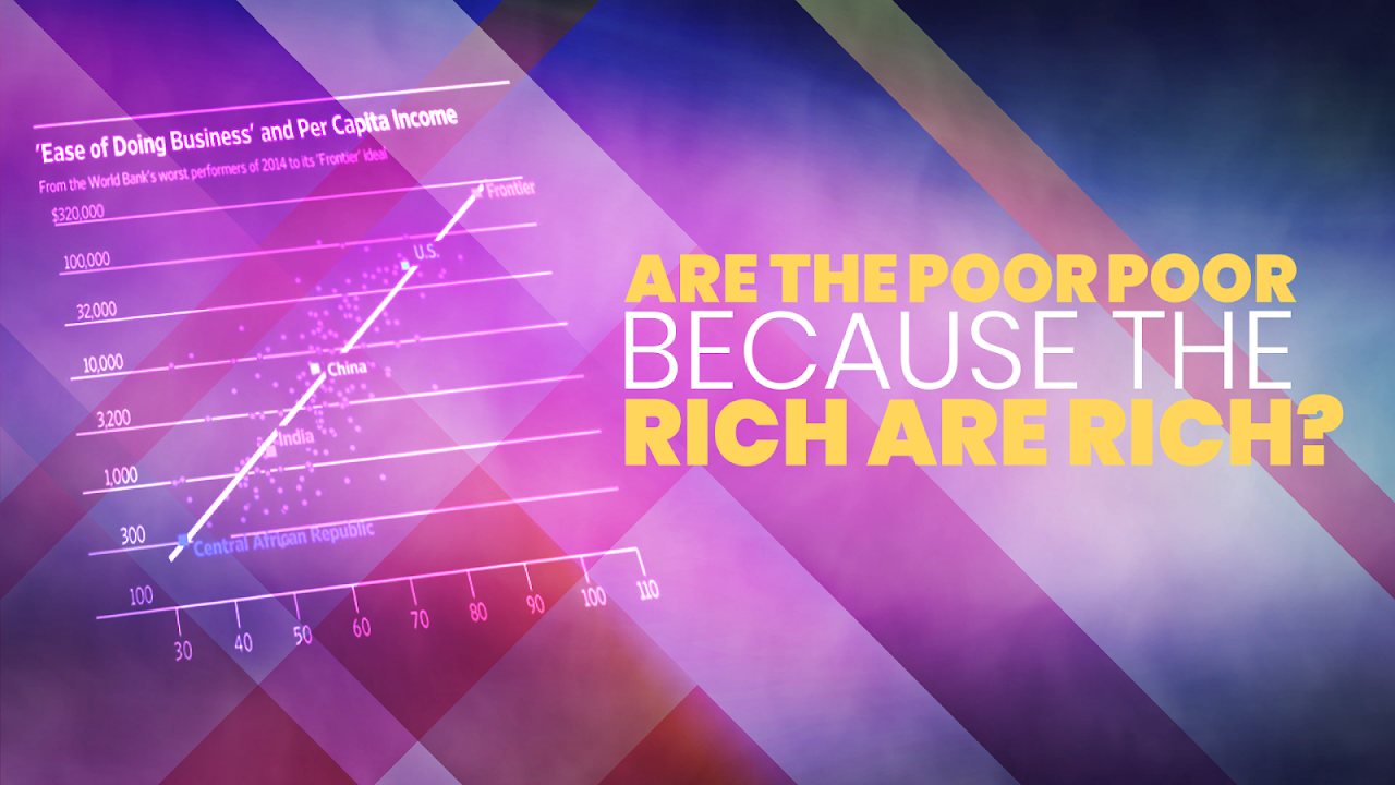 Inequality: Are the poor poor because the rich are rich?