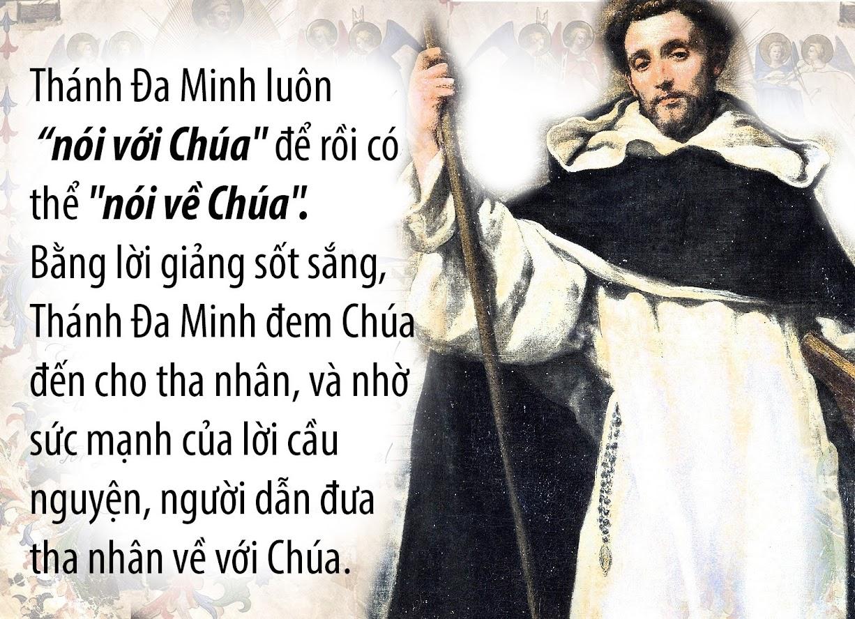 Nghe giảng Lễ Thánh Đa Minh năm 2015