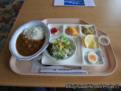 太平洋フェリー「きそ」 2日目 昼食 カレー定食