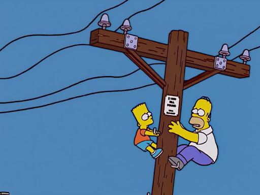 Los Simpsons 15x04 Los monólogos de la reina