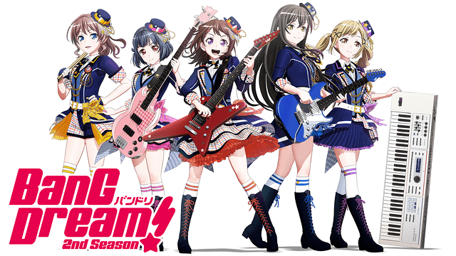 BanG Dream!(バンドリ)2nd Season(2期)|全話アニメ無料動画まとめ