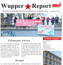 Faksimile: WupperReport 1/21, Ausschnitt.