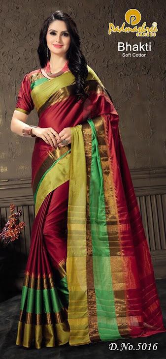 Bhakti Padmashree Branded Sarees Manufacturer Wholesaler
