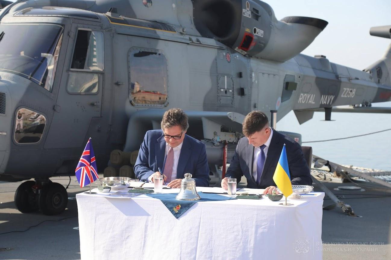 Украина покупает у Великобритании корабли Королевского флота (ФОТО)
