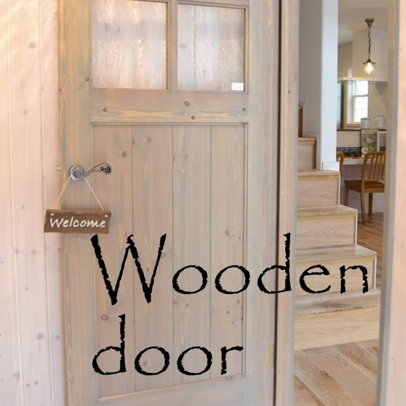 おしゃれでかわいい木製ドア