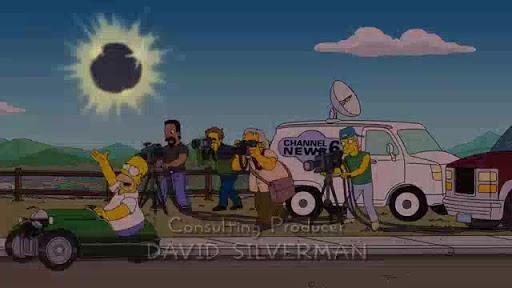 Los Simpsons 27x20  Al mensajero con amor