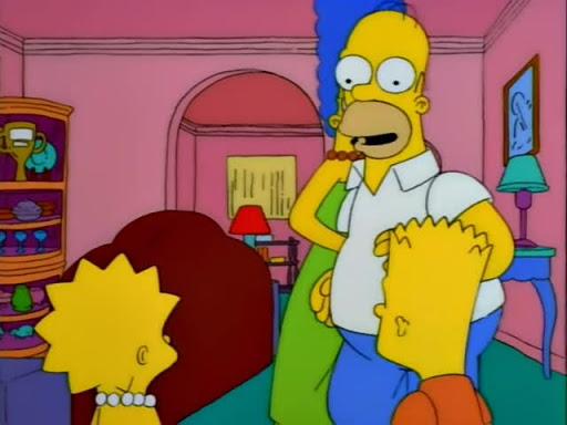 Los Simpsons 9x12 Bart en la feria