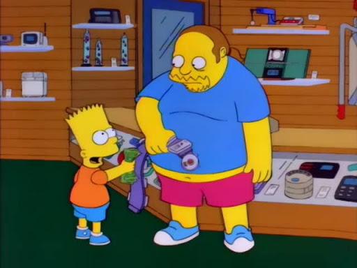 Los Simpsons 8x03 Homero por el campeonato
