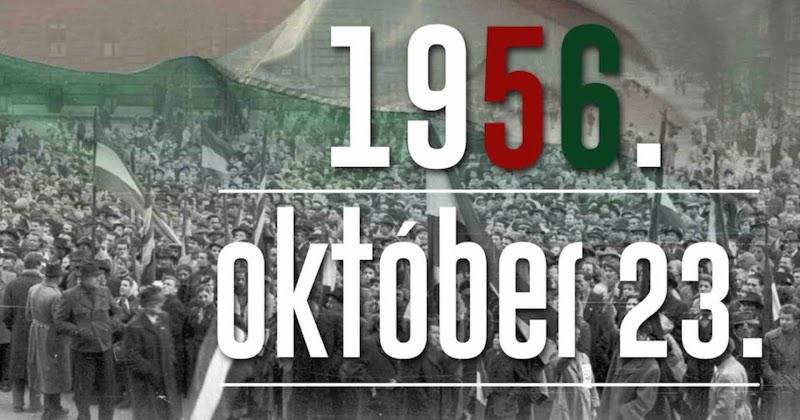 1956-os forradalom és szabadságharc évfordulója 2020