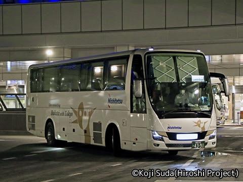 西鉄「はかた号」 0002 バスタ新宿入線