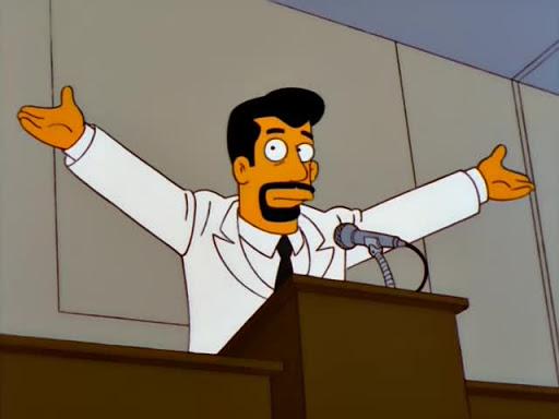Los Simpsons 10x20 El anciano y el estudiante con malas calificaciones