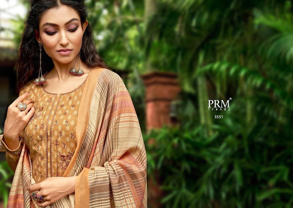 Stripes Prm Trendz Pashmina Dress Material Manufacturer Wholesaler