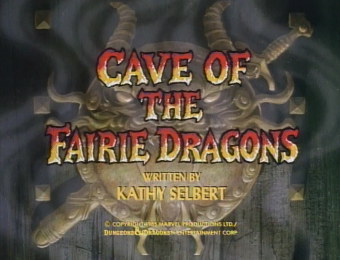 Cave of the Fairie Dragons title card