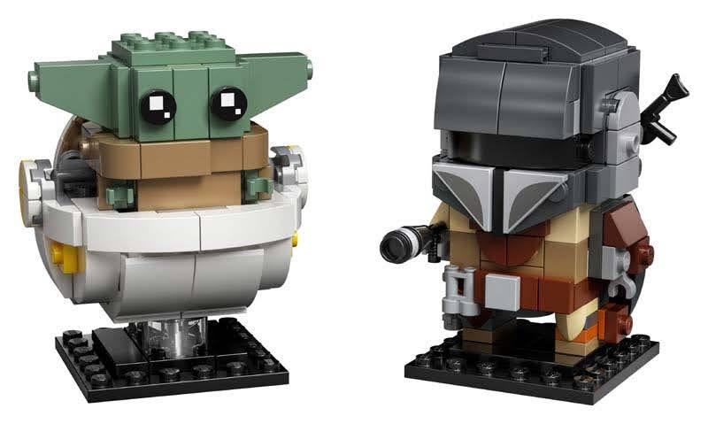 Contenido de Lego® 75317 El Mandaloriano y el Niño