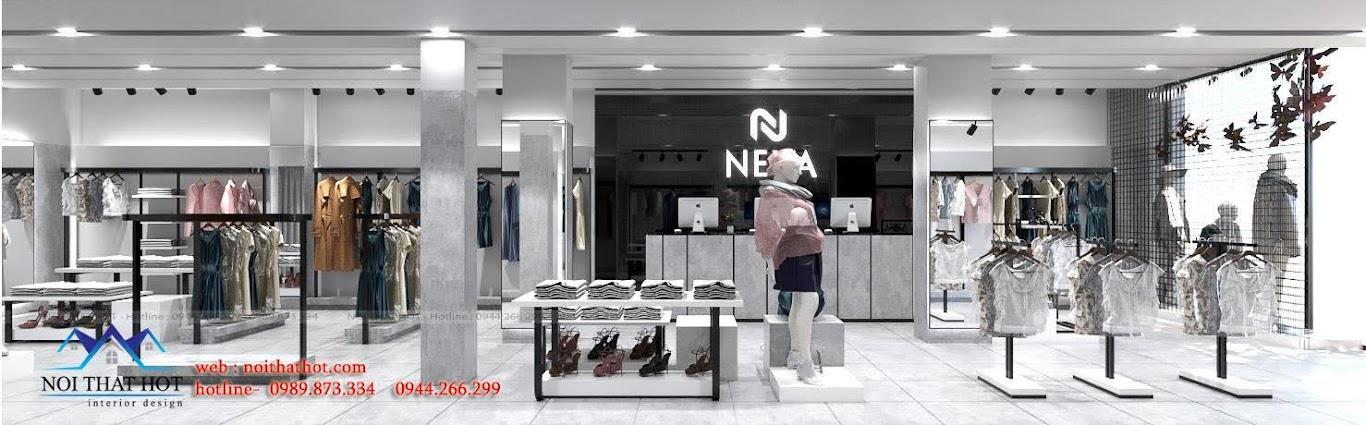 nội thất cửa hàng quần áo