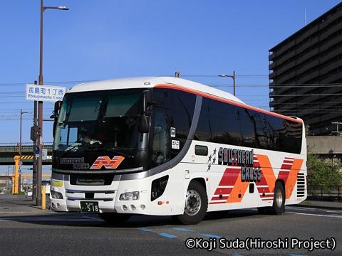 南海バス「サザンクロス」長岡線 ・518