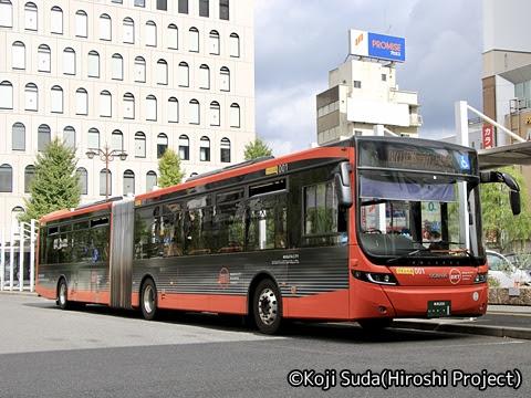 新潟交通 連節バス ・・・・1