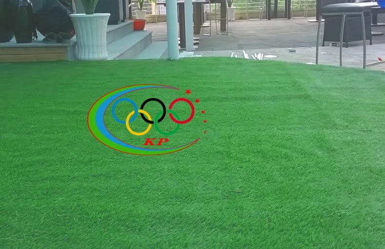 Thảm sân golf được cho hàng hóa trang hoàng số một