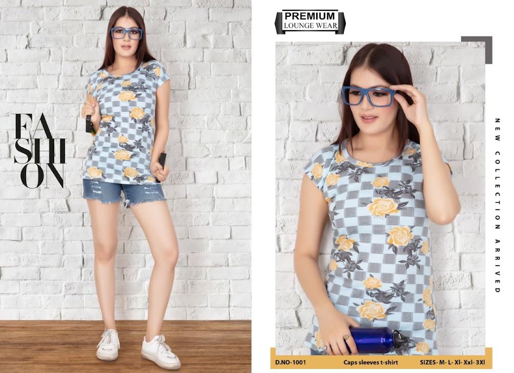 Kavyansika Beauty Vol 8 Women Tshirt Catalog Lowest Price