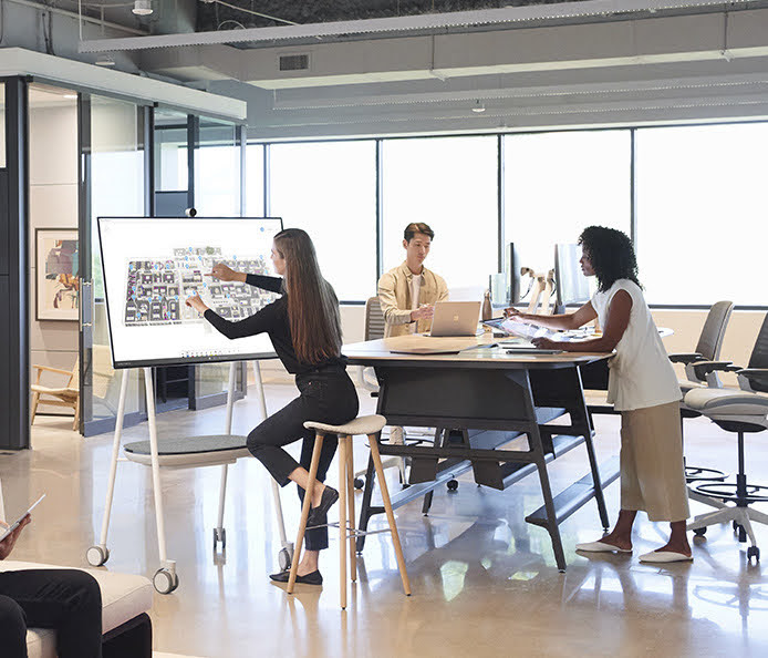 Connect In-Office and Remote Teams with Microsoft Surface Hub 2S