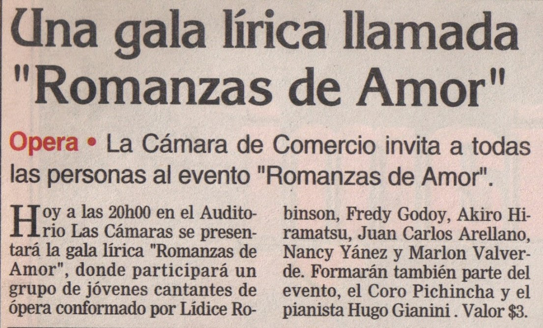 ROMANZAS DE AMOR