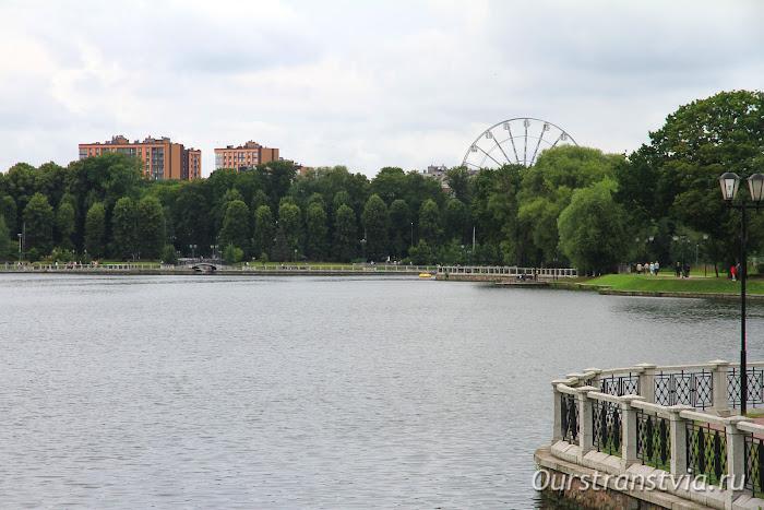 Верхнее озеро, Калининград