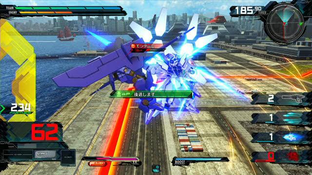 AGE-FX(バーストモード) 前格闘