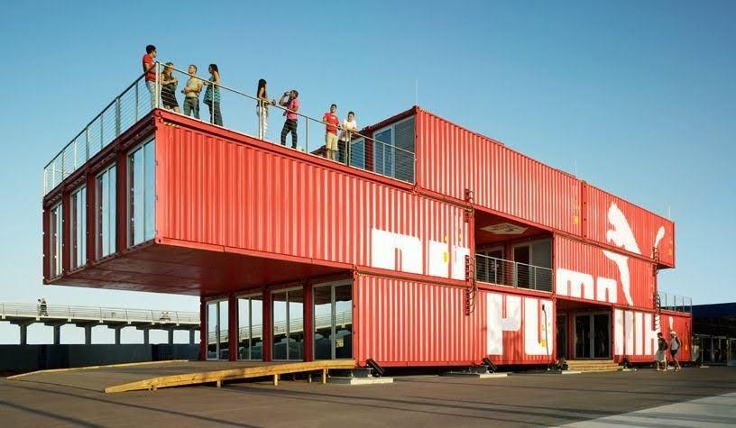 xây nhà bằng vỏ container
