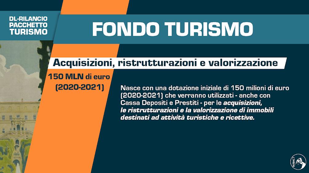 Decreto rilancio e turismo - Mibact