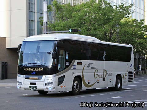 西日本JRバス「京阪神ドリーム高知号」 2246