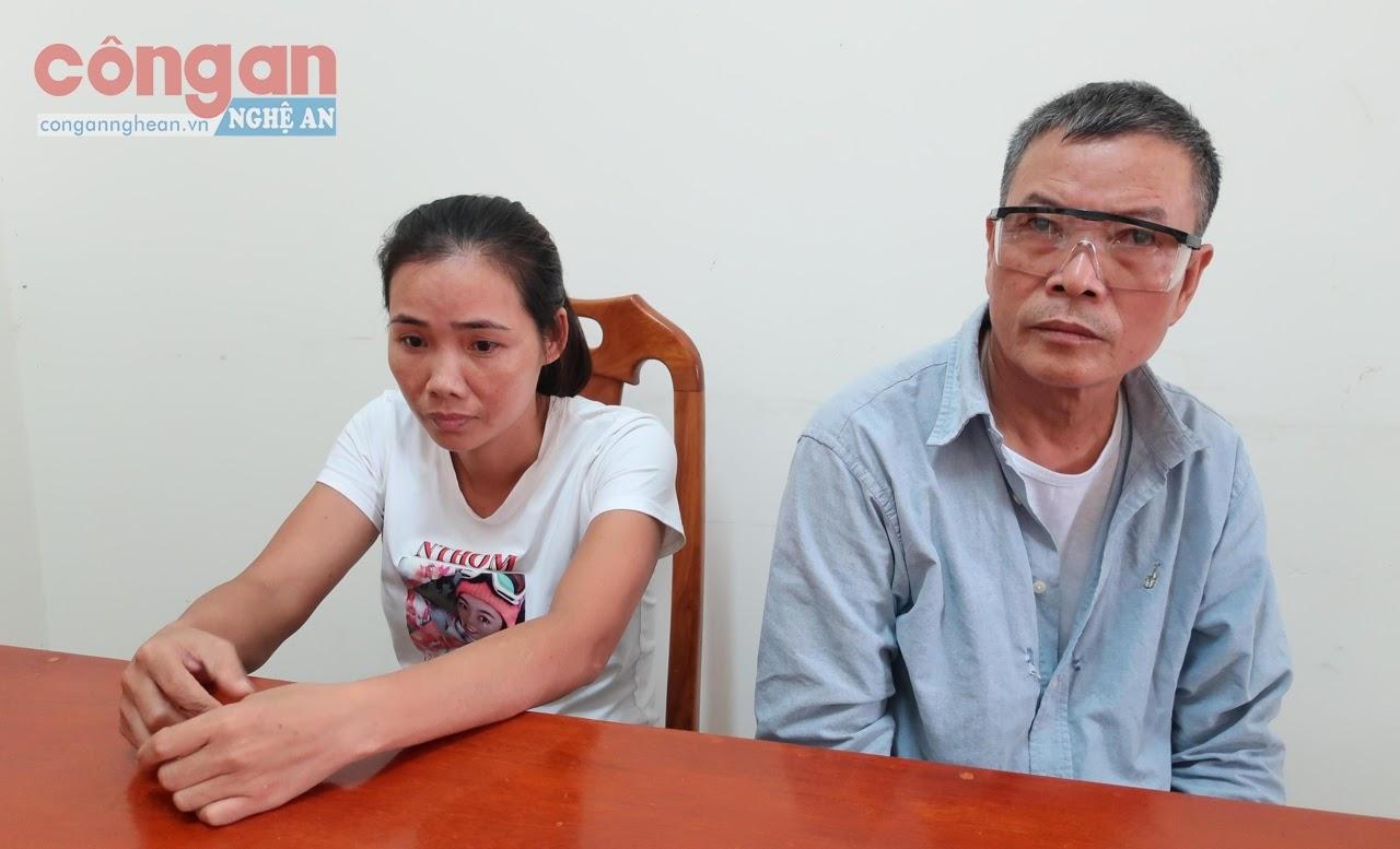 2 đối tượng Phan Thị Tuyết và Lê Xuân Thân