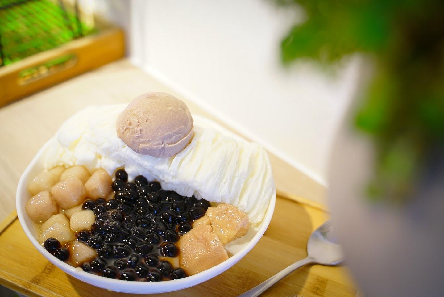 【美食】何家甜品鋪 古制秘糖(永和旗艦店)台北特色冰店推薦  一路從味蕾沁涼上心頭