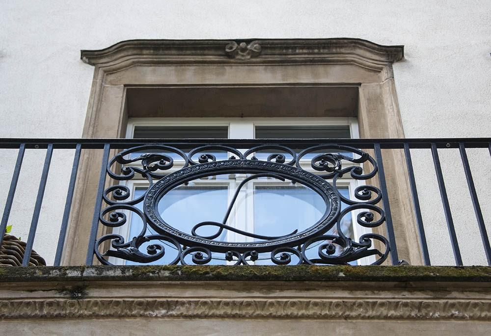 Вилла Шрёдер, балкон