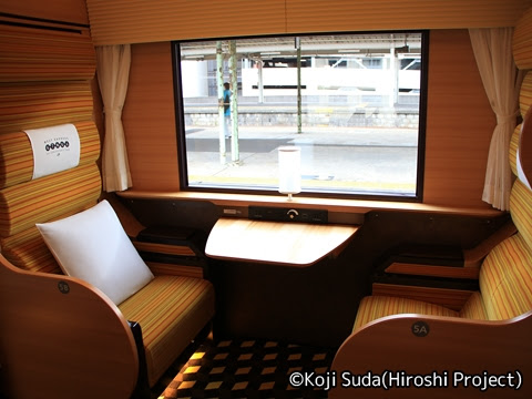 JR西日本 117系「WEST EXPRESS 銀河」 1号車_03