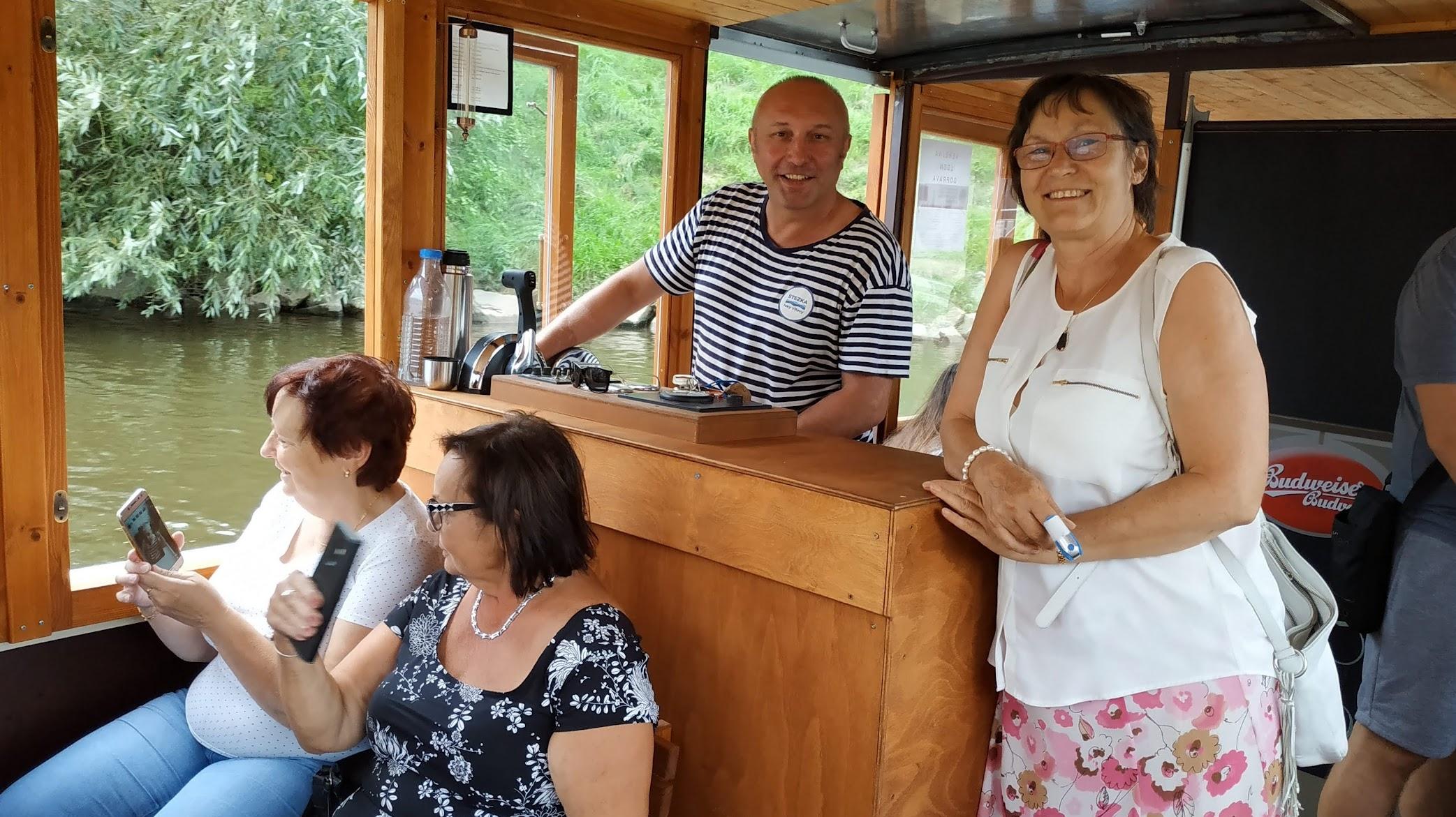 Festival vodní turistiky, plavba po Vltavě