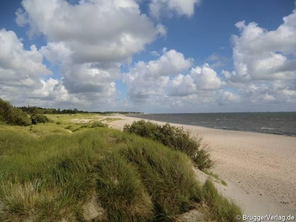 Föhr: Strand bei Nieblum