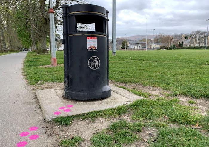 Better bins planned for park areas